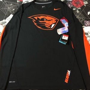 NIKE DRI-FIT OSU OREGON STATE BEAVERS L/S SHIRT L
